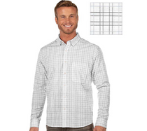 Antigua: Men's Contemporary Fan Apparel Woven - Concord 104403 (Size: Medium,  922 Black/White/Silver) SALE
