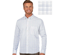 Antigua: Men's Contemporary Fan Apparel Woven - Concord 104403 (Size: Medium,  891 DkRoyal/White/Silver) SALE