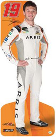 Team Image: Lifesize Cardboard Cutout - Daniel Suarez #18 (Orange)