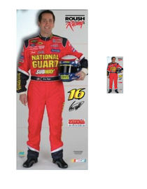 Team Image: Lifesize & Miniature Cardboard Cutout Combo - Greg Biffle #16 National Guard