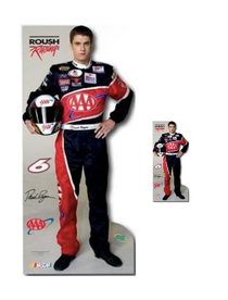 Team Image: Lifesize & Miniature Cardboard Cutout Combo - David Ragan #6 AAA