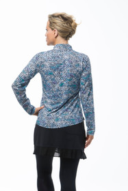 SanSoleil: Ladies UPF 50 SolCool Zip Mock - 900463