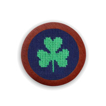 Smathers & Branson: Needlepoint Golf Ball Marker - Shamrock