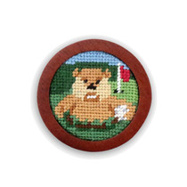 Smathers & Branson: Needlepoint Golf Ball Marker - Gopher Golf