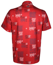 Tattoo Golf: Men's Performance GTX Cool-Stretch Golf Shirt - Red