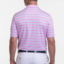 Fairway & Greene: Men's USA Butterfly Stripe Polo
