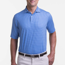 Fairway & Greene: Men's USA Diamond Geo Print Jersey Polo