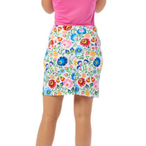 Nancy Lopez Golf: Women's Print Golfing Skort - Beauty