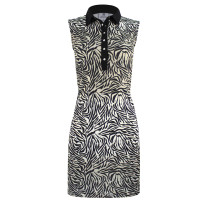 Daily Sports: Women's Tiana Sleeveless Dress - Black Zebra