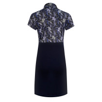 Daily Sports: Women's Luisa Short Sleeve Dress - Navy