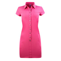 Daily Sports: Women's Lyric Short Sleeve Dress - Fruit Punch Red