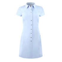 Daily Sports: Women's Lyric Short Sleeve Dress - Breeze Blue