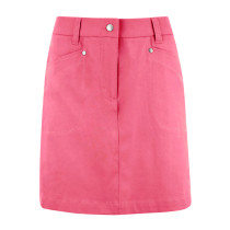 "Daily Sports: Women's Lyric 20.5"" Skort (longer style) - Fruit Punch Red"