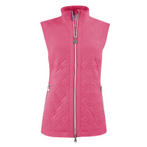 Daily Sports: Women's Even Padded Vest - Fruit Punch Red