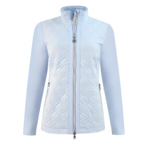 Daily Sports: Women's Even Lightly Padded Jacket - Blue Breeze