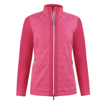 Daily Sports: Women's Even Lightly Padded Jacket - Fruit Punch Red