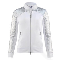 Daily Sports: Women's Caterina Argyle Performance Jacket - White