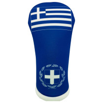 BeeJos: Golf Head Cover - Flag of Greece