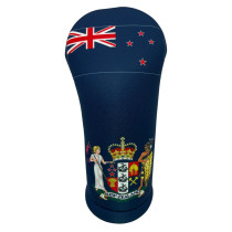 BeeJos: Golf Head Cover - Flag of New Zealand