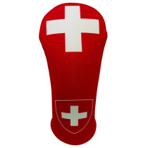 BeeJos: Golf Head Cover - Flag of Switzerland