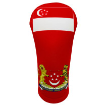 BeeJos: Golf Head Cover - Flag of Singapore