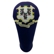 BeeJos: Golf Head Cover - Connecticut State Flag