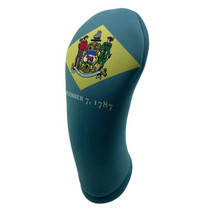 BeeJos: Golf Head Cover - Delaware State Flag