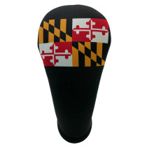 BeeJos: Golf Head Cover - Maryland State Flag