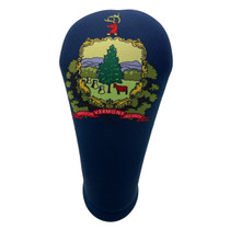 BeeJos: Golf Head Cover - Vermont State Flag