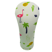BeeJos: Golf Head Cover - Flamingo Hawaiian Print