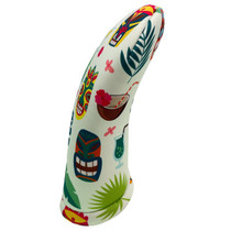 BeeJos: Golf Head Cover - Hawaiian Masks Print