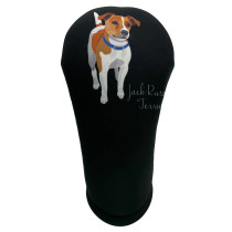 BeeJos: Golf Head Cover - Jack Russell Terrier