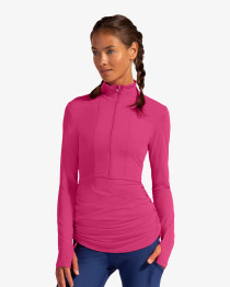 BloqUV: Women's UPF 50 Cover Up Top (2010) (Size: Large, Black) SALE
