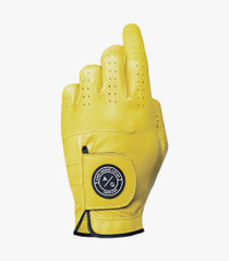 Asher Golf: Ladies Premium Golf Glove - Lemon