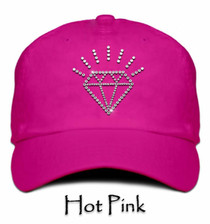 Titania Golf: Women's Cap - Diamond (Hot Pink)  SALE