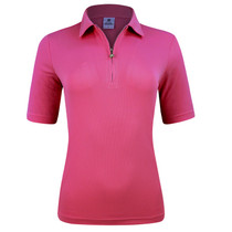 Daily Sports: Women's Macy Half Sleeve Polo - Fruit Punch Red
