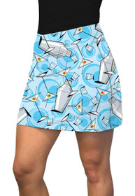 Loudmouth Golf: Women's Active Skort - Partini