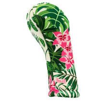 BeeJos: Golf Head Cover - Hot Pink Flowers