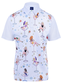 Dirty Martinis Mens Golf Polo Shirt by ReadyGOLF