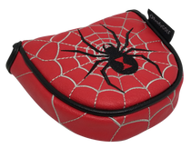 Black Widow Embroidered Putter Cover - Mallet by ReadyGOLF