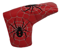Black Widow Embroidered Putter Cover - Blade by ReadyGOLF