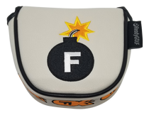 F-Bomb Embroidered Putter Cover - Mallet by ReadyGOLF