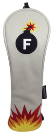 F-Bomb Embroidered Hybrid Headcover by ReadyGOLF