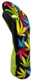 Weed All-Over Embroidered Driver Headcover by ReadyGOLF