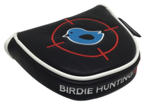 Birdie Hunting Embroidered Putter Cover by ReadyGOLF - Mallet (Crosshairs)