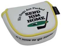 Send Him Home Embroidered Putter Cover - Mallet