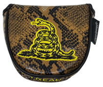 Don't Tread On Me Embroidered Putter Cover - Mallet by ReadyGOLF
