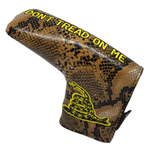 Don't Tread On Me Embroidered Putter Cover - Blade by ReadyGOLF