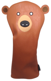 Bear Embroidered Animal Driver Headcover by ReadyGOLF