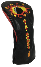 Hit Bombs Embroidered Driver Headcover by ReadyGOLF